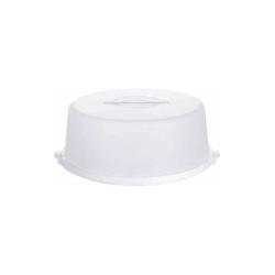Tortenbutler BASIC weiß(D 33 cm)