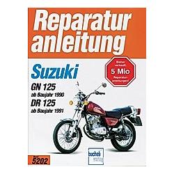 Suzuki GN 125 (ab Baujahr 1990)  DR 125 (ab Baujahr 1991) - Buch