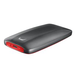 Samsung Portable SSD X5 1TB Thunderbolt 3 grau