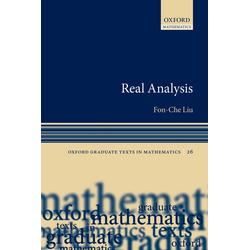 Real Analysis: eBook von Fon-Che Liu