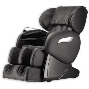 Luxus Massagesessel Shiatsu F2000 Leder schwarz Rollentechnik Massage Heizung